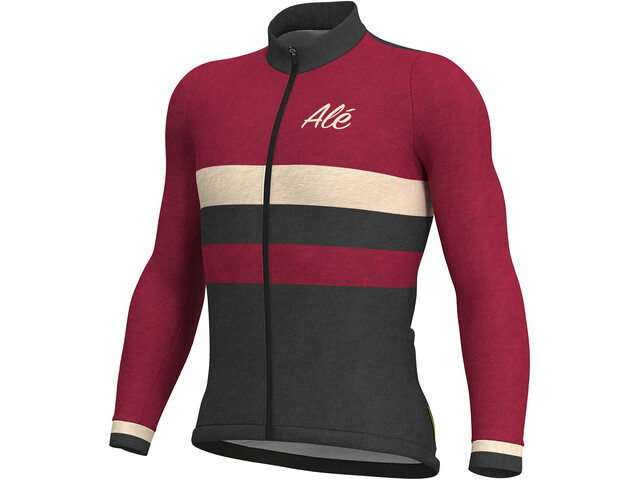 ... Alé Cycling Classic Vintage Bike Jersey Longsleeve Men red black. Alé  ... 4cead517a